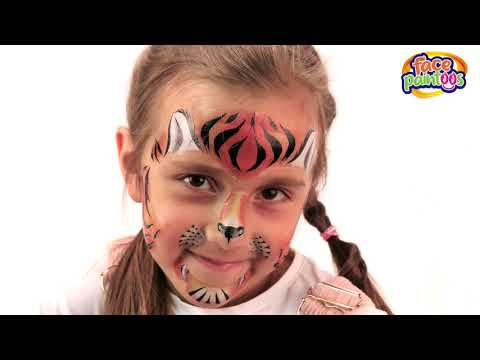 Youtube Video for Wild Face Paintoos - 5 Awesome Animals