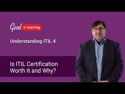 Is ITIL Certification Worth It and Why? (ITIL Foundation) - YouTube