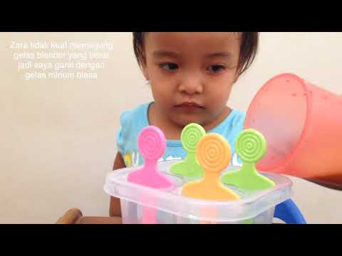 Video Membuat Ice Cream Sorbet