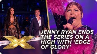 Jenny Ryan ends the series on a high with 'Edge of Glory'! | Final | X Factor: Celebrity