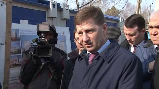 Сергей Фургал проверил ход строительства нового корпуса...
