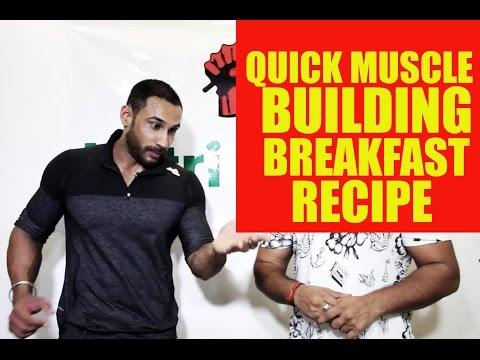 Quick Muscle building breakfast recipe