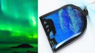 【UVレジン】綺麗なオーロラを作りたい!!~ I Want To Make A Beautiful Aurora! !