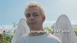 aziraphale being a bastard for 5 minutes straight