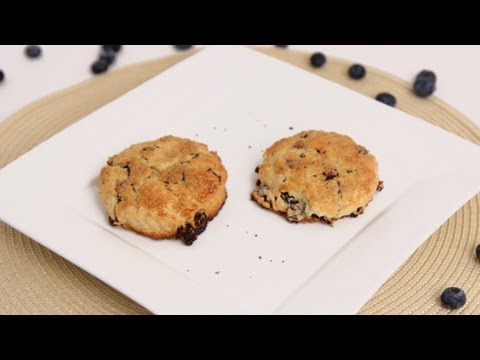 Lemon Blueberry Scones Recipe – Laura Vitale – Laura in the Kitchen Episode 635