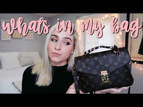 Whats in my Bag? Louis Vuitton Pochette Metis & Review