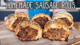 DIY Gourmet Sausage Rolls