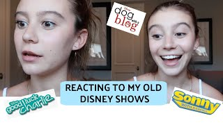 Reacting To My Old Disney Shows! | G Hannelius