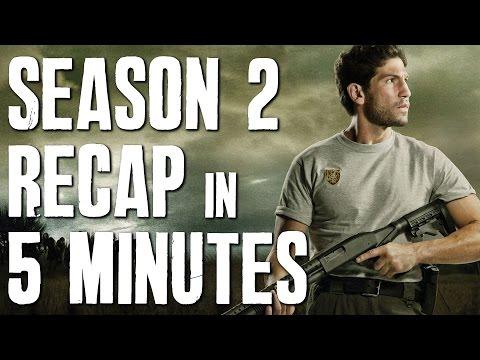 The Walking Dead: Season 2 in 5 minutes   Story Recap   Plot Summary