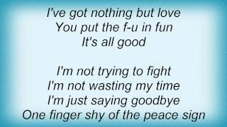 Jo Dee Messina - Peace Sign Lyrics