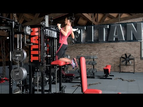 Machine-assisted Pull-up (open-centered bar)