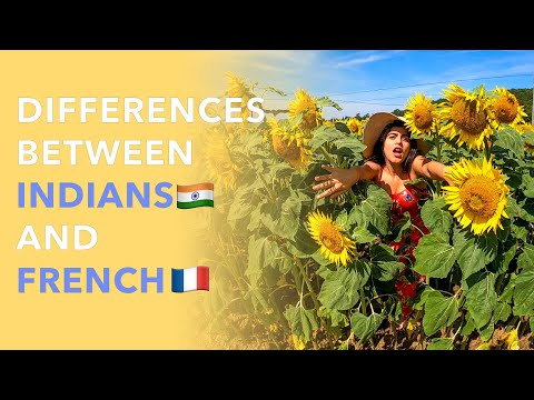 Differences between Indians 🇮🇳 and French 🇫🇷.