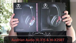 Austrian Audio Hi-X15 & Hi-X25BT im Test - Preis-/Leistungsknaller und dazu sehr guter Klang
