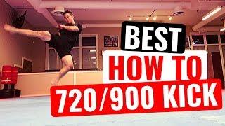 HOW TO CHEAT 900/720 KICK | Taekwondo/Martial Arts/Tricking