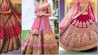 Collection Of Best Bridal Lehenga   Dulhan Lehenga   Wedding Dress   Indian Wedding Outfit 2019