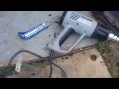 Подготовка к ремонту бампера Шевроле Круз (Часть1)