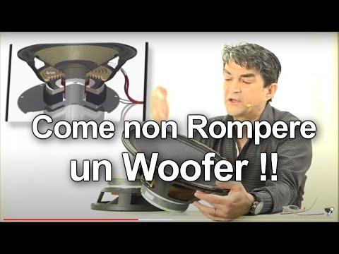 Woofer: come non rompere un altoparlante.