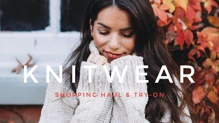 H&M Knitwear Shopping Haul & Try-on | Autumn Winter 2019