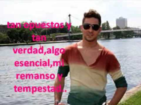 VIDEO BISBAL-UN AMOR QUE VIENE Y VA.wmv