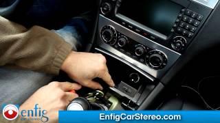 Radio removal C-Class 2005-2007 Mercedes Benz