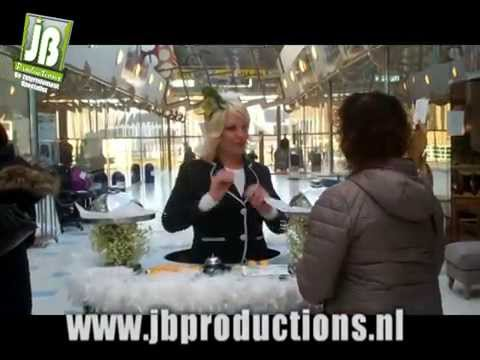 Walking Table als Serveerster | JB Productions