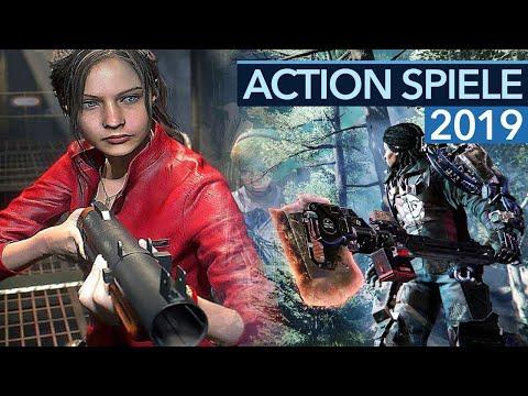 Action-Spiele 2019 - 12 Game-Highlights für PC, PS4 und Xbox One
