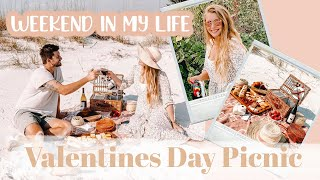 WEEKEND IN MY LIFE // Valentines Day Picnic, Beach Day And Engagement Photoshoot!