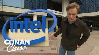 "Conan Visits Intel's Headquarters - ""Late Night With Conan O'Brien"""
