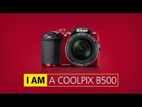 Nikon coolpix B500 unboxing 2016