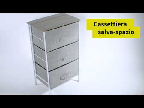 Salvaspazio Cucina Dmail : Cassettiera salvaspazio cassetti con montaggio rapido dmail