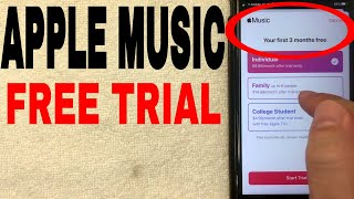 ✅  How To Get 3 Month Apple Music Free Trial 🔴