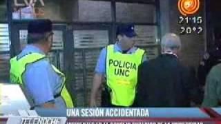 Incidentes En El Rectorado UNC