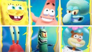 Spongebob Battle For Bikini Bottom Rehydrated All Characters Unlocked   Spongebob Squarepants