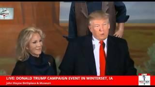 John Wayne's Daughter Aissa Endorses Donald Trump (1-19-16)