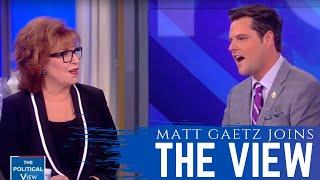Congressman Gaetz Takes on The View