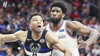 Milwaukee Bucks vs Philadelphia 76ers - Full Highlights   December 25, 2019   2019-20 NBA Season