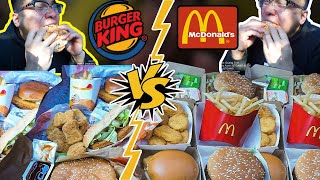 Mc Donalds VS Burger King   Which One Better...?!