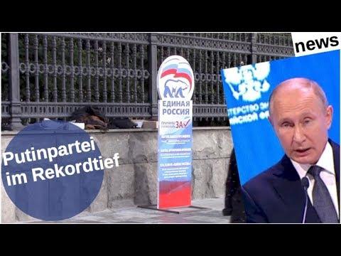 Putinpartei im Rekordtief [Video]