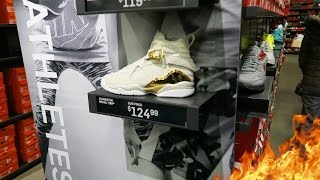 LIMITED AIR JORDANS AT NIKE FACTORY STORE!!!