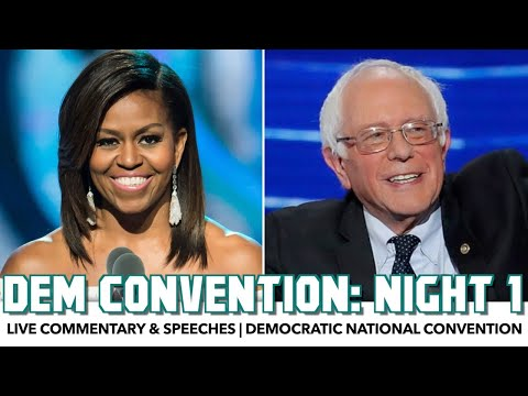 DNC 2020 Night 1 | Live Commentary & Speeches
