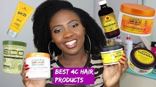 BEST AFFORDABLE Natural 4C Hair Products