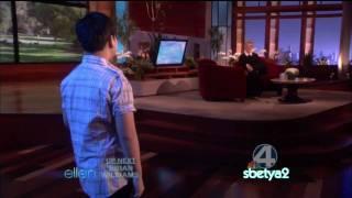 Rhap Salazar  in Ellen Show