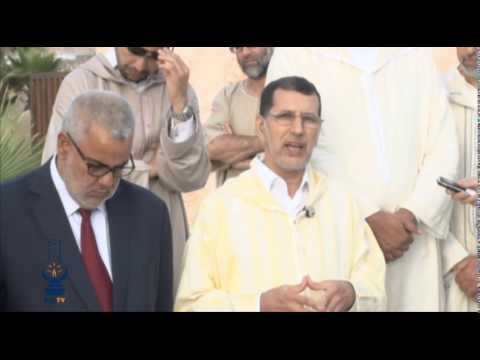 زيارة ترحم لقبر المرحوم الدكتور عبد الكريم الخطيب
