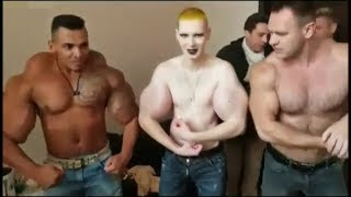 Synthol Freaks have an Oil Posedown