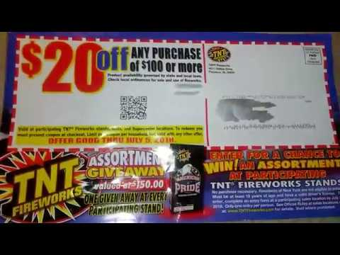 2018 TNT Firework Catalog | Giveaway At Any Tent Participating Mp3