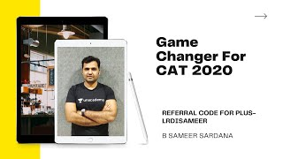 Game Changer For CAT 2020