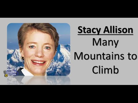 Sample video for Stacy Allison