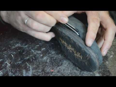 Ремонт обуви Внутренняя заплатка