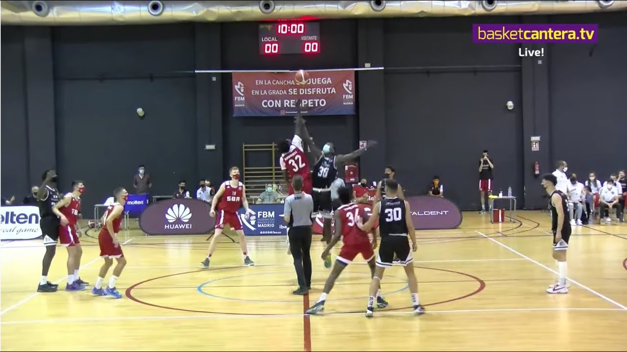 F4JuniorMasc. B TORRELODONES vs SPANISH BASKETBALL ACADEMY . Por 3/4 puesto. Liga U18M. FBMadrid 21