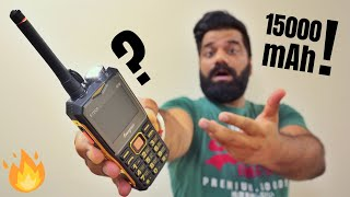This Phone is CRAZY - 15000mAh Battery Inside!!!🔥🔥🔥